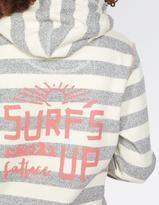 Fat Face Surfs Up Stripe Hoody