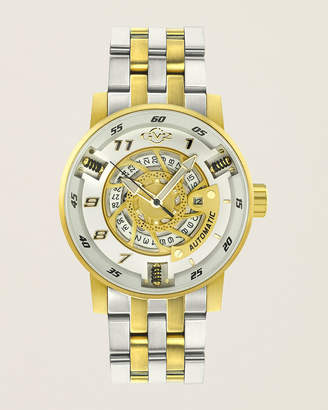 Gv2 1306B Motorcycle Sport Two-Tone Watch