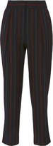 See by Chloé Striped Crop Trousers