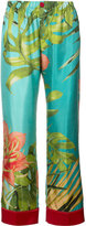 F.R.S For Restless Sleepers - tropical print pyjama trousers - women - Acetate - XS