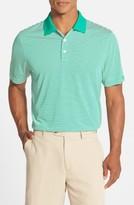 Cutter & Buck Men's Big & Tall Trevor Drytec Moisture Wicking Golf Polo