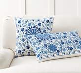 Pottery Barn Arella Embroidered Pillow Cover