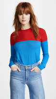 Stella Jean Colorblocked Long Sleeve Top