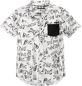 Sean John Printed Shirt, Big Boys (8-20)