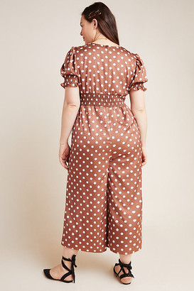 Hutch Lavinia Polka Dot Plus Jumpsuit By in Assorted Size 2 X
