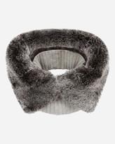 N.Peal Fur Cashmere Snood