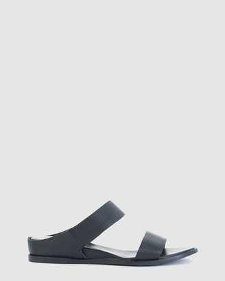 EOS Women's Black Flat Sandals - Fae - Size One Size, 38 at The Iconic