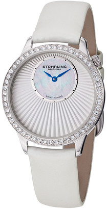 Stuhrling Original Women's Radiant Watch With Interchangeable Strap