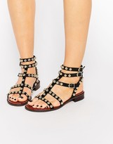 Sam Edelman Eavann Studded Gladiator Flat Sandal