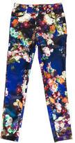 Just Cavalli Satin Printed Pants