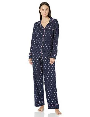 Hatley Little Blue House by Women's Long Sleeve Pajama Sets Pyjama,X-Large (Size:)