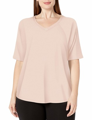 Calvin Klein Women's Plus SizeBallet Sleeve Batwing Top Size