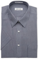 Pierre Cardin Gingham Short Sleeved Dress Shirt