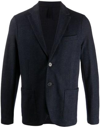 Harris Wharf London Checkered Single Breasted Blazer