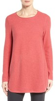 Eileen Fisher Organic Cotton Links Sweater
