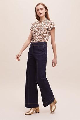 MUNTHE Jasper Wide-Leg Jeans