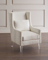 John-Richard Collection John Richard Collection High-Back Wing Chair
