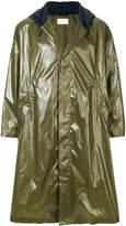 Reality Studio hooded waterproof coat