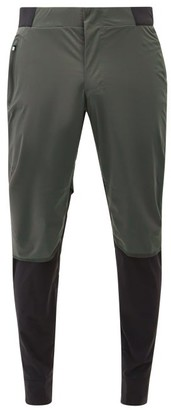On Panelled Technical-shell Track Pants - Black Grey