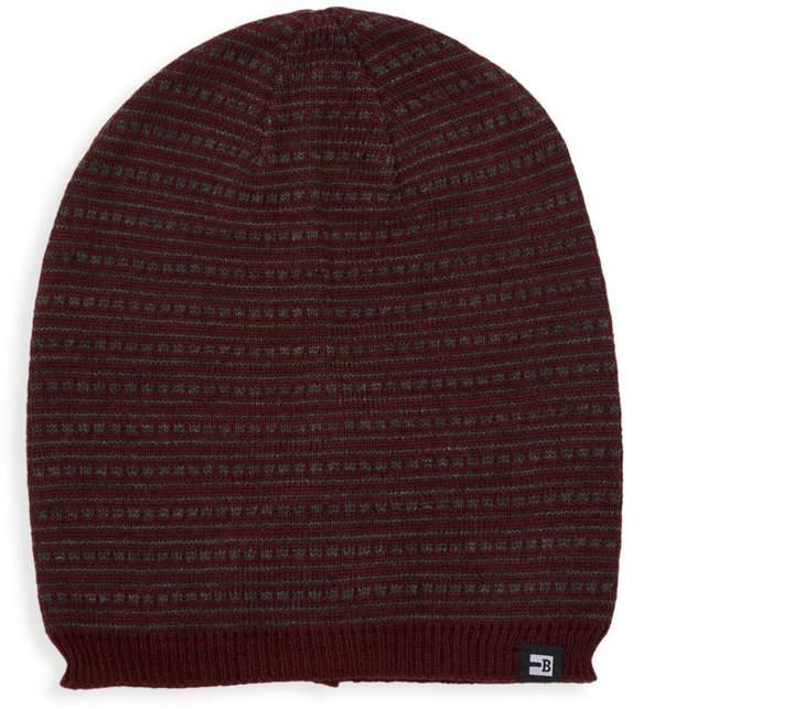 98e821e32 Fairisle Stripe Knit Beanie