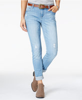 Vanilla Star Juniors' Skinny Jeans with Belt