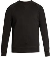 Y-3 M Cl Logo-print Crew-neck Cotton Sweatshirt
