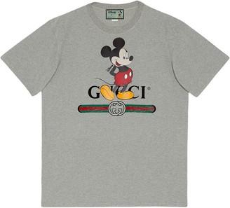 Gucci x Disney oversized logo-print T-shirt
