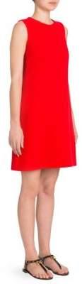 Dolce & Gabbana Crepe A-Line Dress