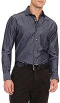 Daniel Cremieux Long-Sleeve Solid Heather Woven Shirt