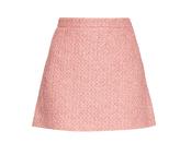 Gucci Tweed A-line mini skirt