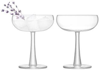 LSA International Gin Coupe Glass Set of 2