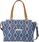 Petunia Pickle Bottom Statement Satchel Diaper Bag in Indigo by