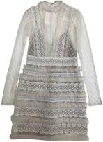 ZUHAIR MURAD White Synthetic Dresses