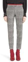 Fendi Women's Prince Of Wales Print Crop Pants