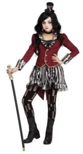 BuySeasons Ringmistress Little and Big Girls Costume
