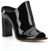 Calvin Klein Maera Patent Leather Mules