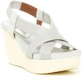 Donald J Pliner Jemm Metallic Wedge Sandal