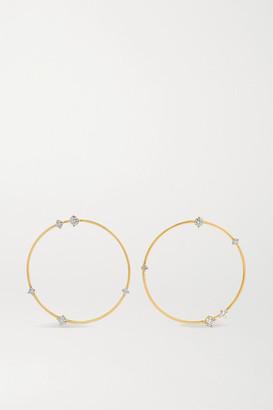 Fernando Jorge Solo 18-karat Gold Diamond Earrings - one size
