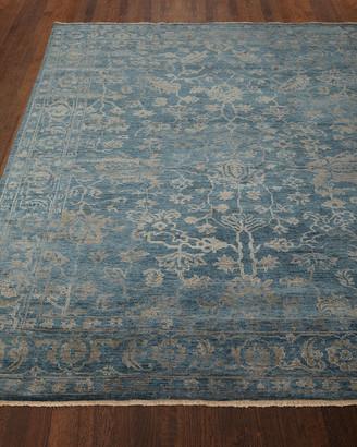 Cece Magnolia Wool Rug, 8' x 10'
