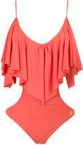 BRIGITTE frill swimsuit - women - Polyamide/Spandex/Elastane - PP