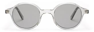 L.G.R Reunion Crystal Grey Sunglasses