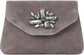 Dune Bandie brooch-detail clutch bag