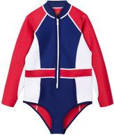 Duskii Girl Poppy long sleeve swimsuit