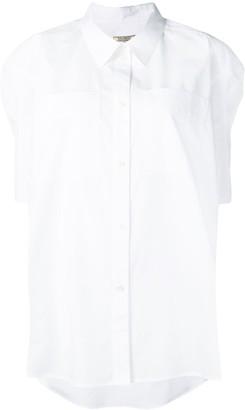 Nina Ricci high low hem shirt