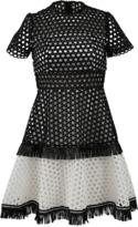 Alexis Cynthia Circle Embroidered Dress