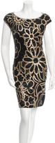Naeem Khan Sequin Mini Dress