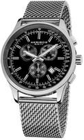 Akribos XXIV Men's Swiss Quartz Mesh Bracelet Watch