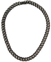 Dannijo Crystal Chain-Link Necklace