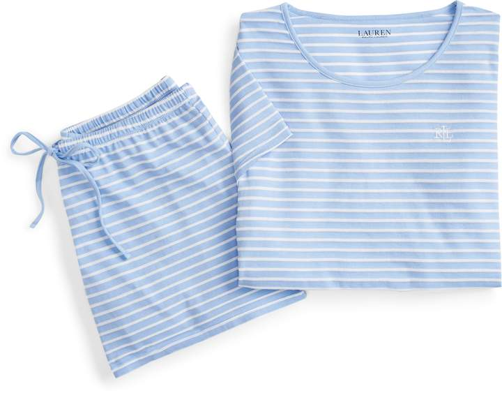 Ralph Lauren Striped Sleep Short Set