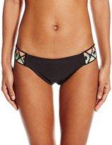 Luli Fama Women's Ocean Spell Navajo Sides Full Bikini Bottom